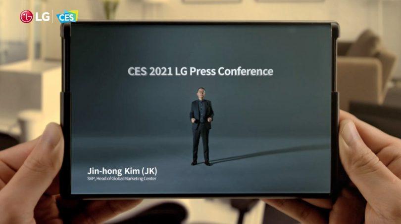 Prihaja LG-jev telefon z raztegljivim zaslonom?