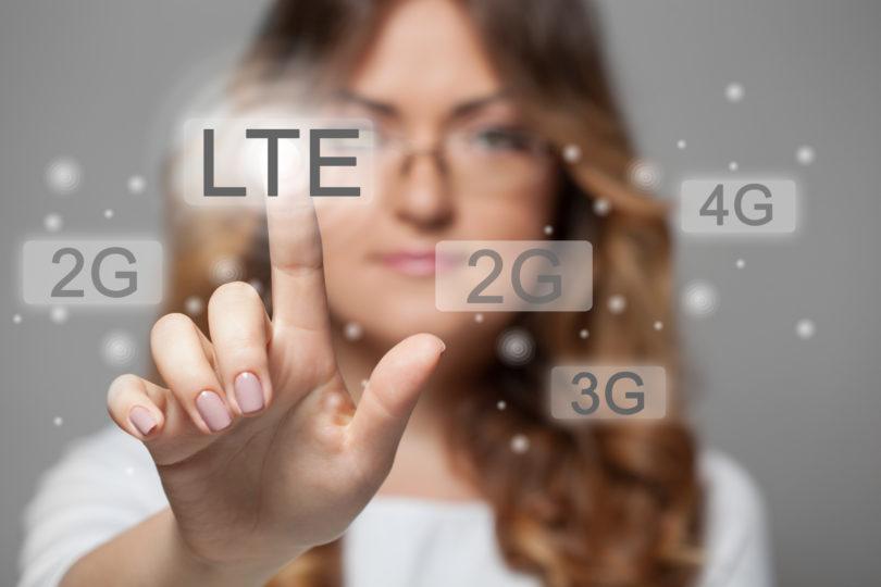 Večja pokritost z LTE, rast podatkovnih količin ter VoLTE!