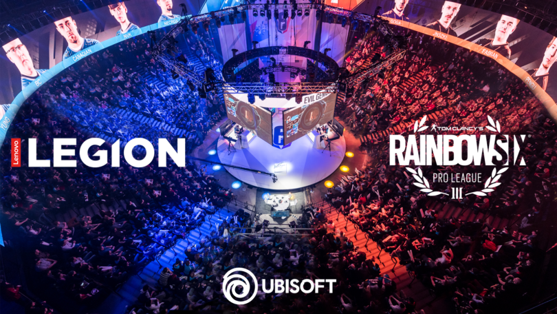 Lenovo Legion je partner družbe Ubisoft in uradni sponzor tekmovanja Tom Clancy's Rainbow Six Siege Pro League
