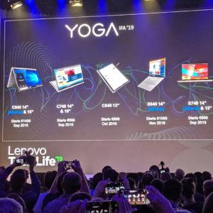 Pri Lenovu se bo kmalu vse imenovalo Yoga