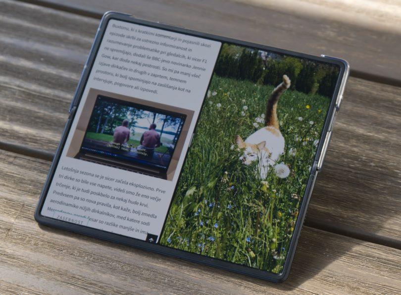 Huawei Mate X2: Daleč najboljši prepogljiv hardver do zdaj! (#video)