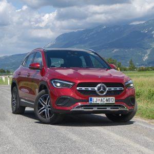Mercedes-Benz ima po predstavitvi treh novincev najštevilčnejšo ponudbo SUV-jev