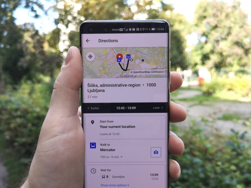 Z aplikacijo Moovit boste vedno našli najhitrejšo pot skozi mesto