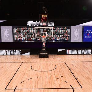 Na tekmah NBA bo po 300 resničnih navideznih gledalcev