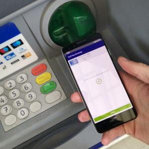 NLB Pay je končno uporaben še  na bankomatu