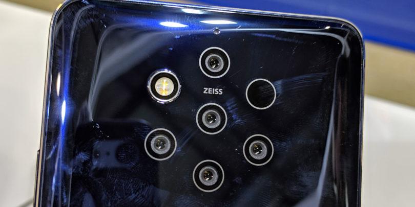 Čemu rabi Nokia 9 Pureview pet objektivov z enako goriščnico?