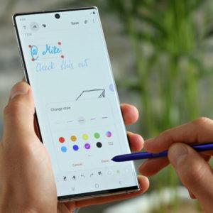 Galaxy Note10 ali »vse, kar vam je všeč pri tej liniji«