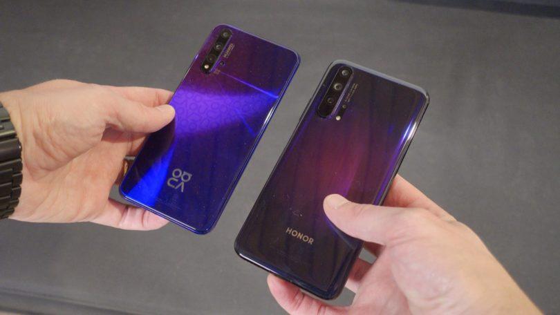 Honor 20 Pro in Huawei Nova 5T: Prirejena za množični trg (#video)