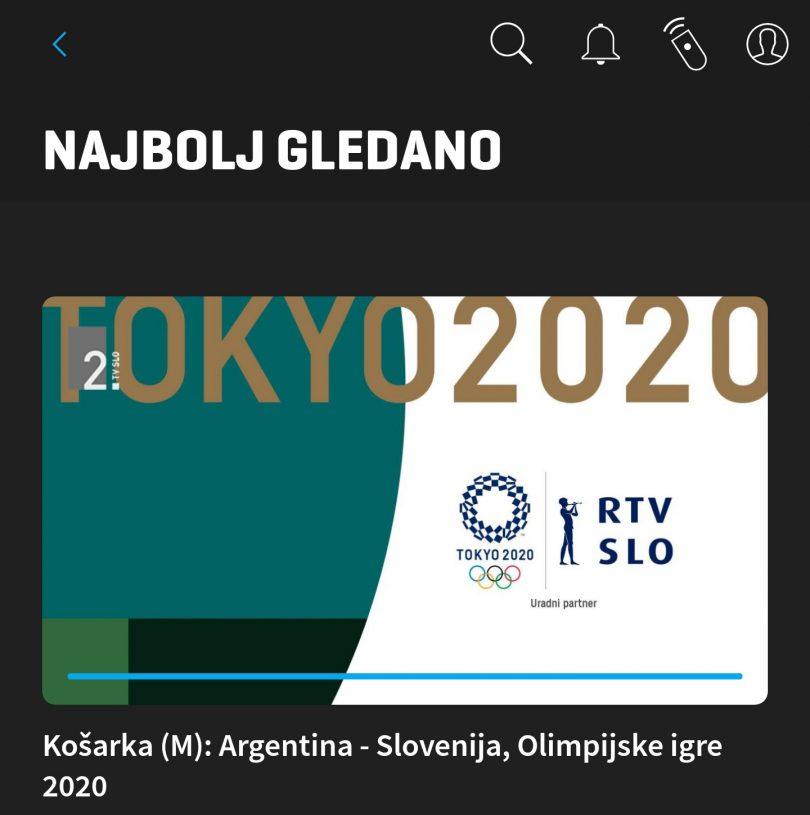 Ne najvišja gledanost, zato pa rekordni prenos podatkov v mobilnih omrežjih med olimpijskimi igrami