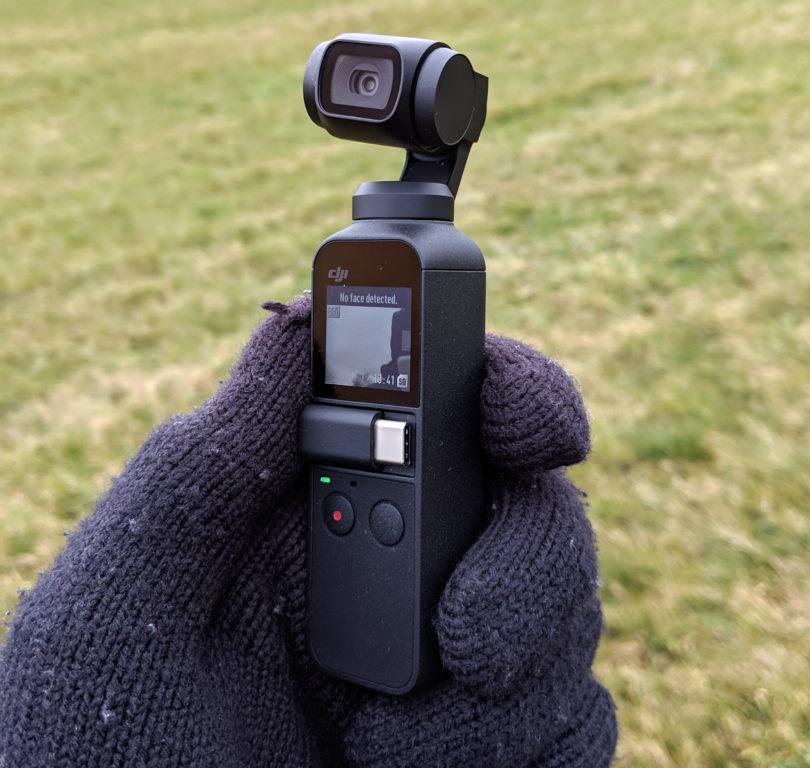 DJI Osmo Pocket je hudo obetavna vlogerska kamera (#VIDEO)