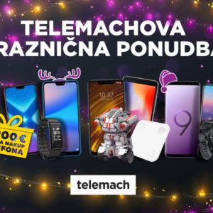 Obdarite se pri Telemachu!