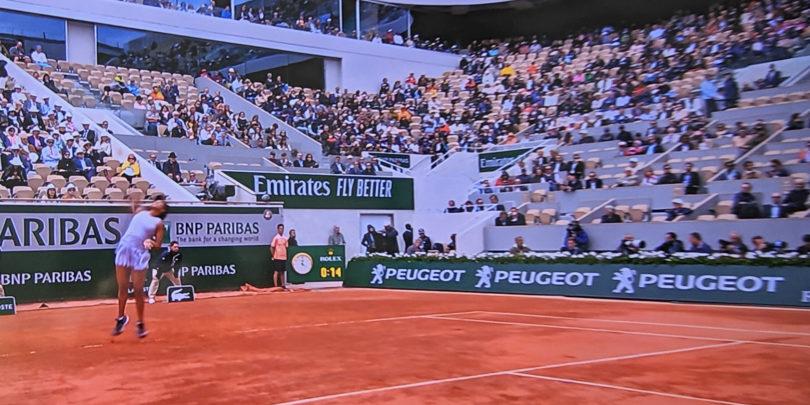 Ob spremljanju Roland Garrosa si želim, da bi bil ves televizijski šport v 4K