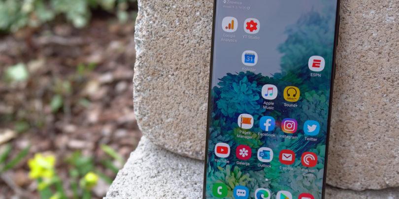 Samsung Galaxy S20 Plus – Nekaj napredka in veliko marketinga (#video)