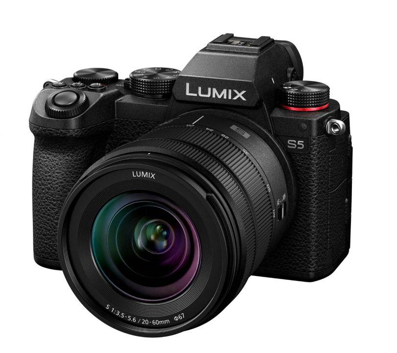 Panasonic Lumix S5 je manjša in lažja izvedba serije S1