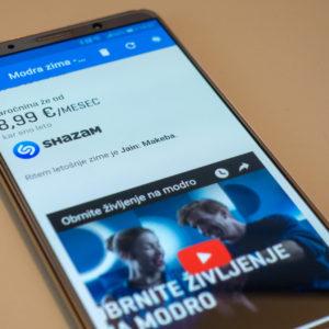 Telekom je za svojo najnovejšo kampanjo ugrabil Shazam