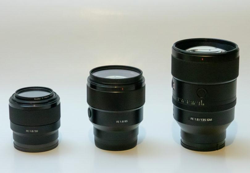 Sony FE 135 mm f1.8 GM: Drag, vendar brez prave konkurence