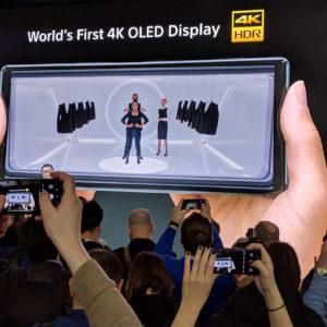 Sony je še vedno prepričan, da je v telefonu nujen zaslon 4K