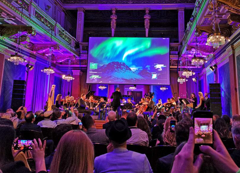 Huaweijeva računalniška simfonija zasedla dunajsko dvorano