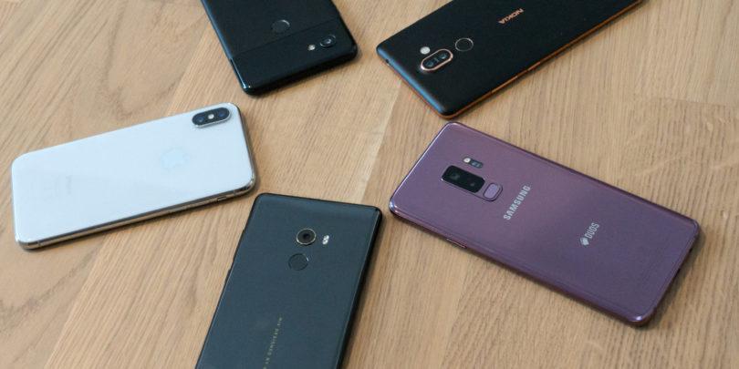 Kateri telefon naj kupim? (pomlad 2018)