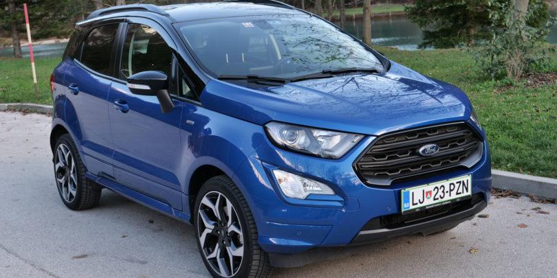 Ford Ecosport: Popravki v čakanju novega