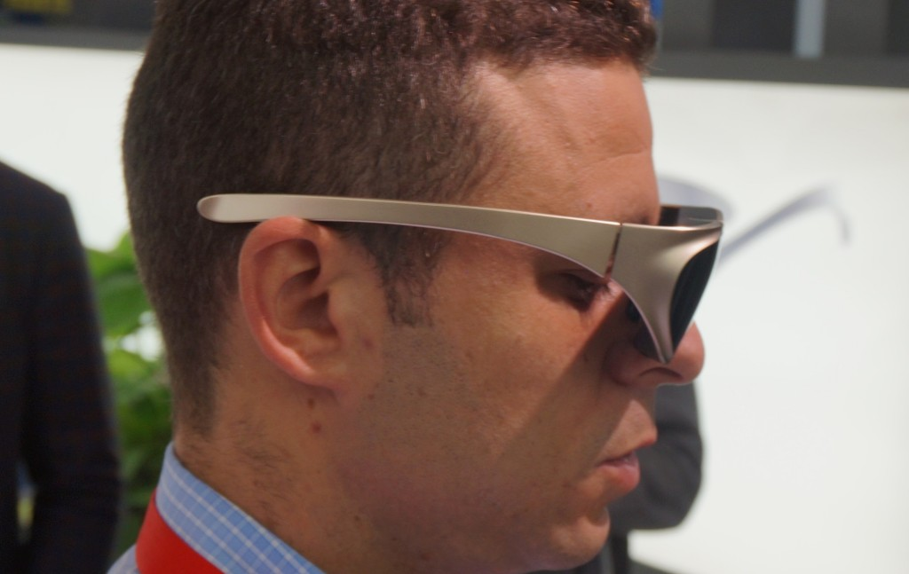 Očala dlodlo naj bi bila lahka in majhna, a so še prototip.