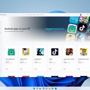 Kako bomo v praksi nameščali androidne aplikacije v Windows 11?