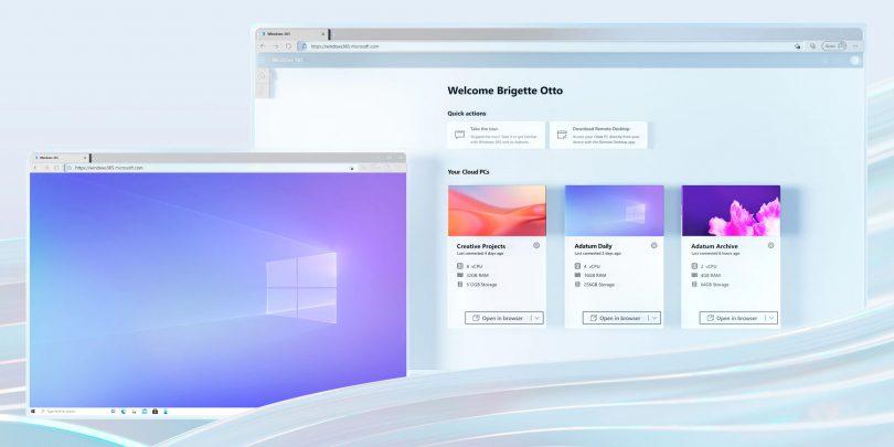 Prihaja Windows v spletnem brskalniku