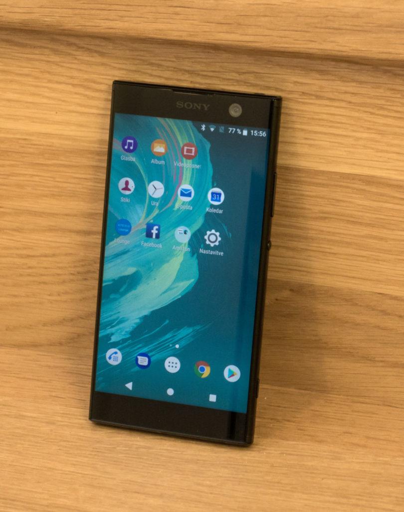 Sony Xperia XA2: V redu izbira, v spominu pa nam ne bo ostala