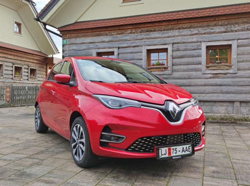 Renault želi, da Zoe ostane najbolj pogost električni avto