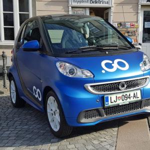 Ljubljansko deljenje vozil Avant2Go ima še vedno neznanke