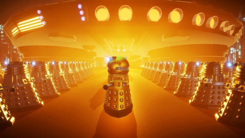 Daleks!: Vesoljske kante se kar naprej derejo »EXTERMINATE« (#video, #brezplačno)