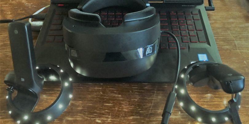 HP Mixed Reality Headset VR1000-100nn: zaslončka bi morala biti OLED! (#VIDEO)