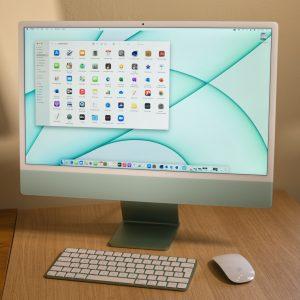 Apple iMac 24 (M1): Odličen računalniški komplet, če ti ustreza