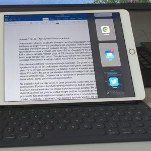 Poskusil sem, pa ni šlo – iPad še ni računalnik za resno delo