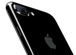 Dvojni fotoaparat pri modelu plus. Foto Apple