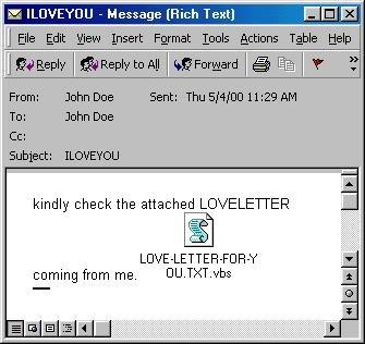 Z bliskovitim širjenjem črva »I Love You« smo pred 20 leti vstopili v nevarne čase?