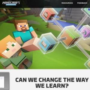 Igra Minecraft za šole