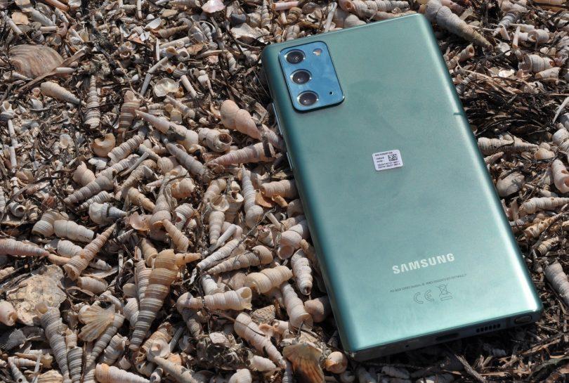 """Galaxy Note20: Edini pametni telefon po premijski ceni s hrbtiščem iz """"NEČESA"""" (#video)"""