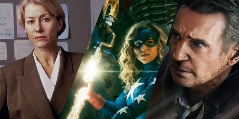 Vrača se Stargirl, Liam Neeson se zoperstavi mladcema, Helen Mirren pa je spet neomajna inšpektorica (#videonapovednik)