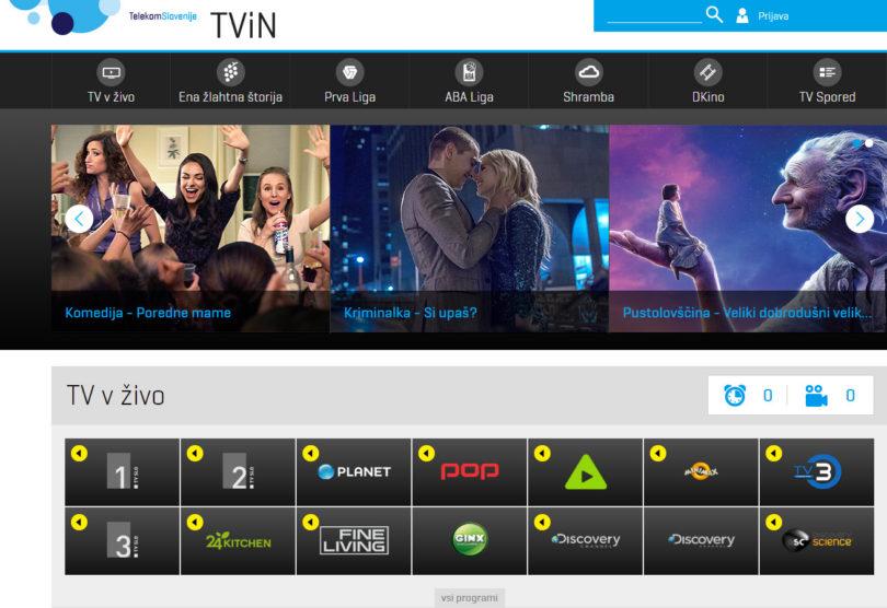 Pop TV je v podražitev primoral tudi Telekom Slovenije